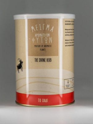 """Μείγμα αρωματικών φυτών """"Το Βραστάρι"""" από λουίζα, λεμονόχορτο, μελισσόχορτο και τσάι του βουνού, σε συσκευασία 50gr."""