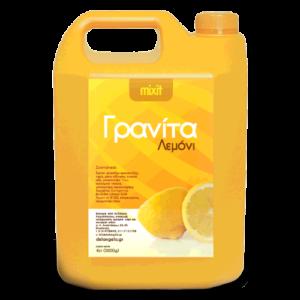 Mixit μείγμα γρανίτας με γεύση λεμόνι. Συσκευασία 5.2kg.